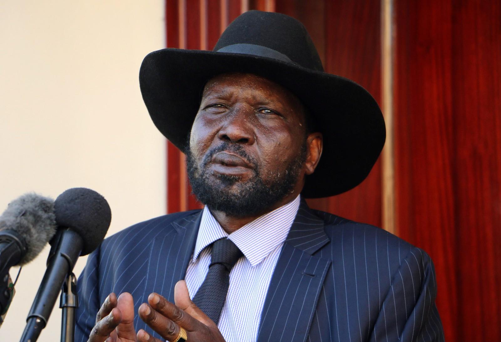 Sør-Sudans president Salva Kiir.