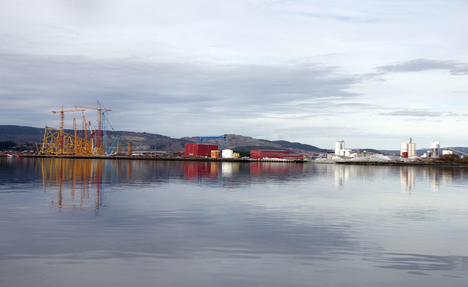 Blank sjø i Verdal