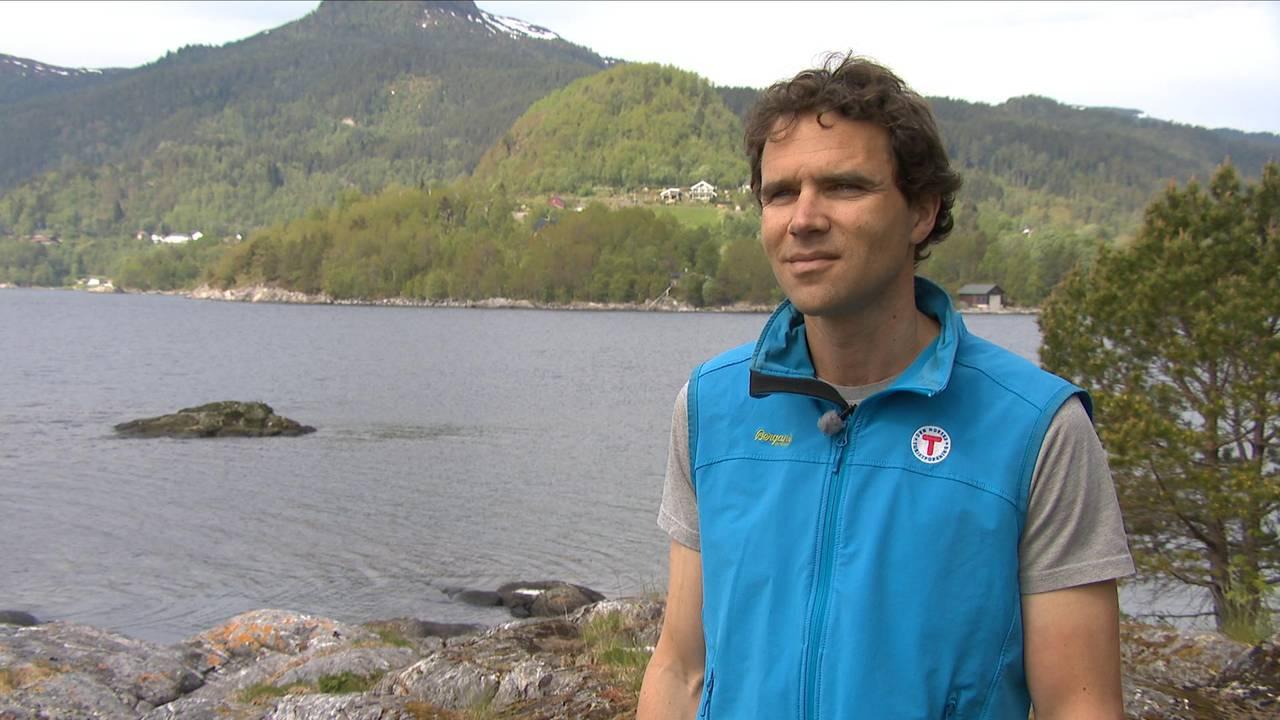 Åsmund Steen, leder i Forum for friluftsliv i Møre og Romsdal.