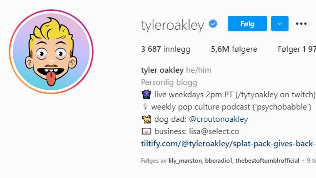 Tyler Oakley pronouns