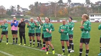 Amazon Grimstad er avhengige av poeng for å overleve i Toppserien i fotball. I dag sikret de seg et viktig poeng mot Klepp.