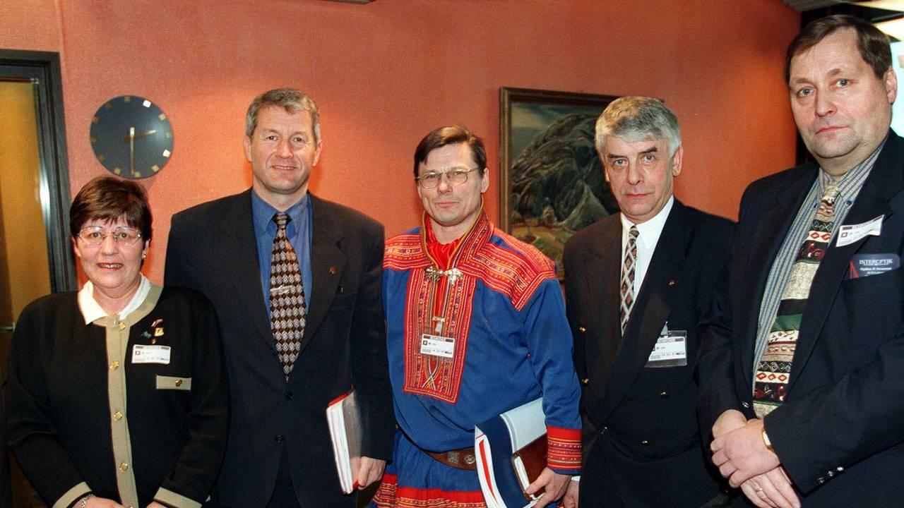 Regjeringens styringsgruppe for Nord-Norge 1997.