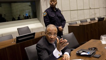 Liberias tidligere president Charles Taylor
