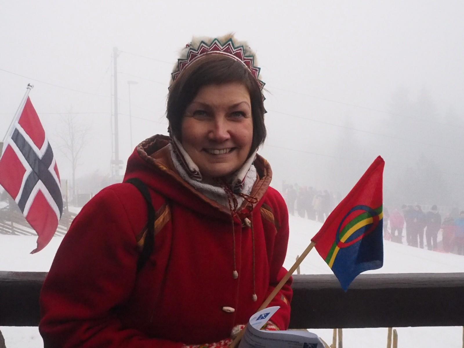 Oslo byråd inviterte også Keskitalo med til Holmenkollen for å se femmila.