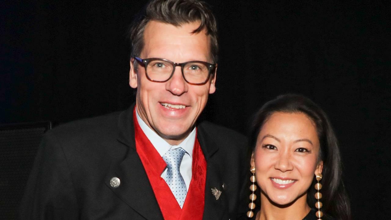 Johann Olav Koss og Jennifer Lee