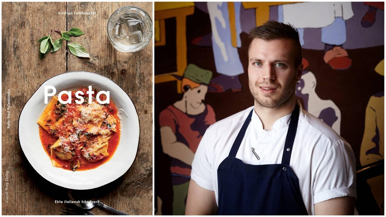 Kristian Lambrechts har gitt ut kokeboken «Pasta – ekte italiensk håndverk».