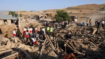 Jordskjelv Iran