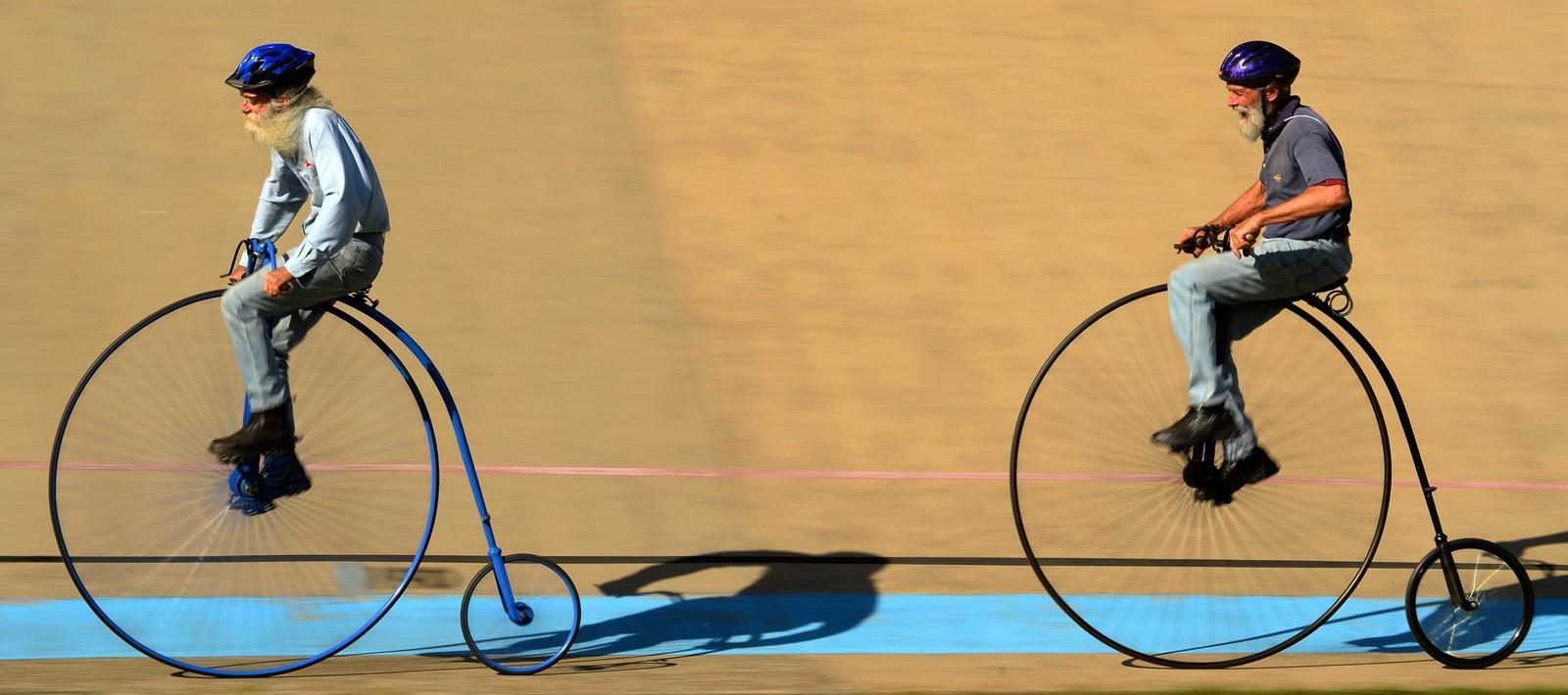 Veltepetter-løp i Canterbury Velodrome i Sydney i Australia.