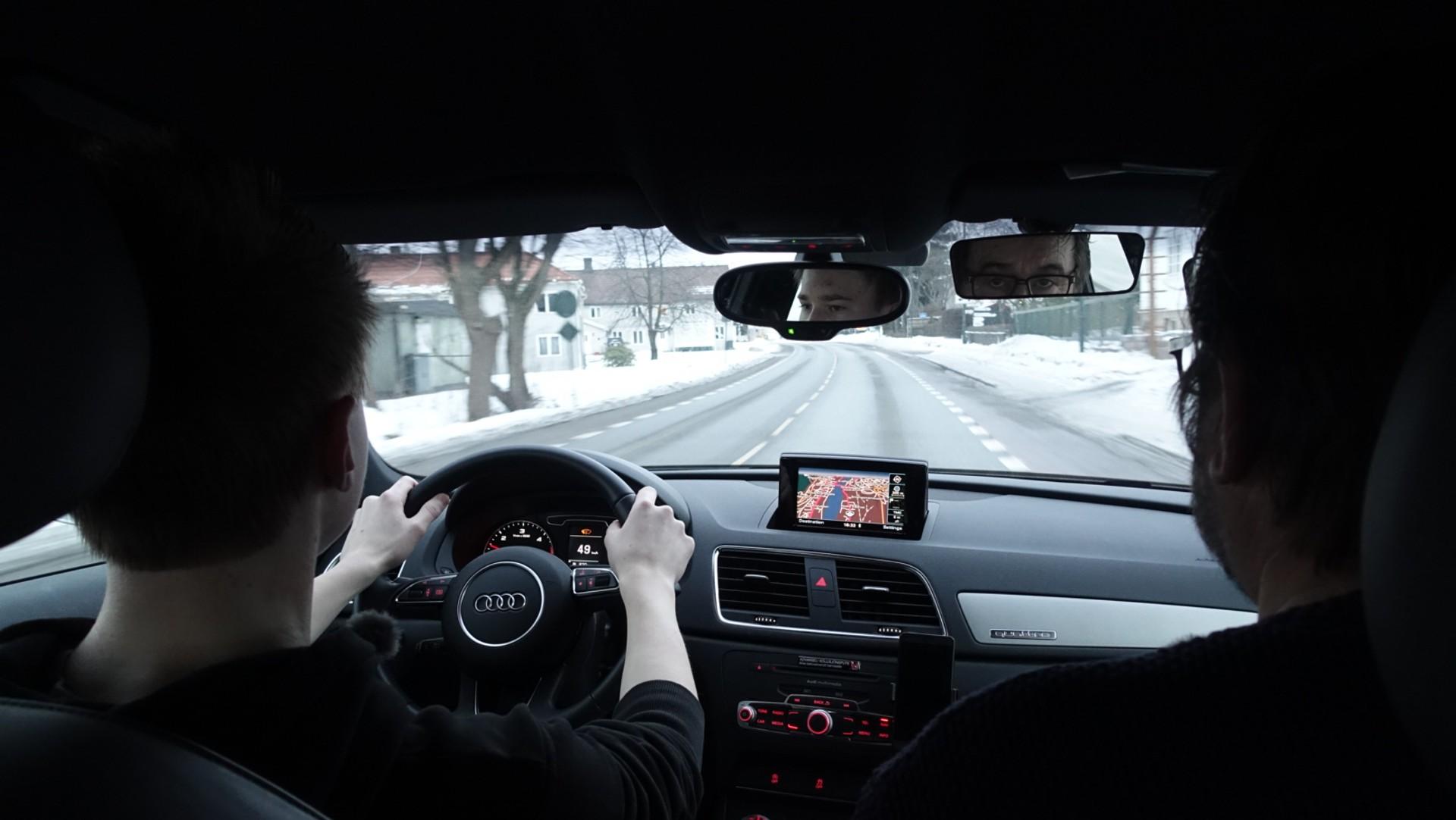 vegvesen øvelseskjøring