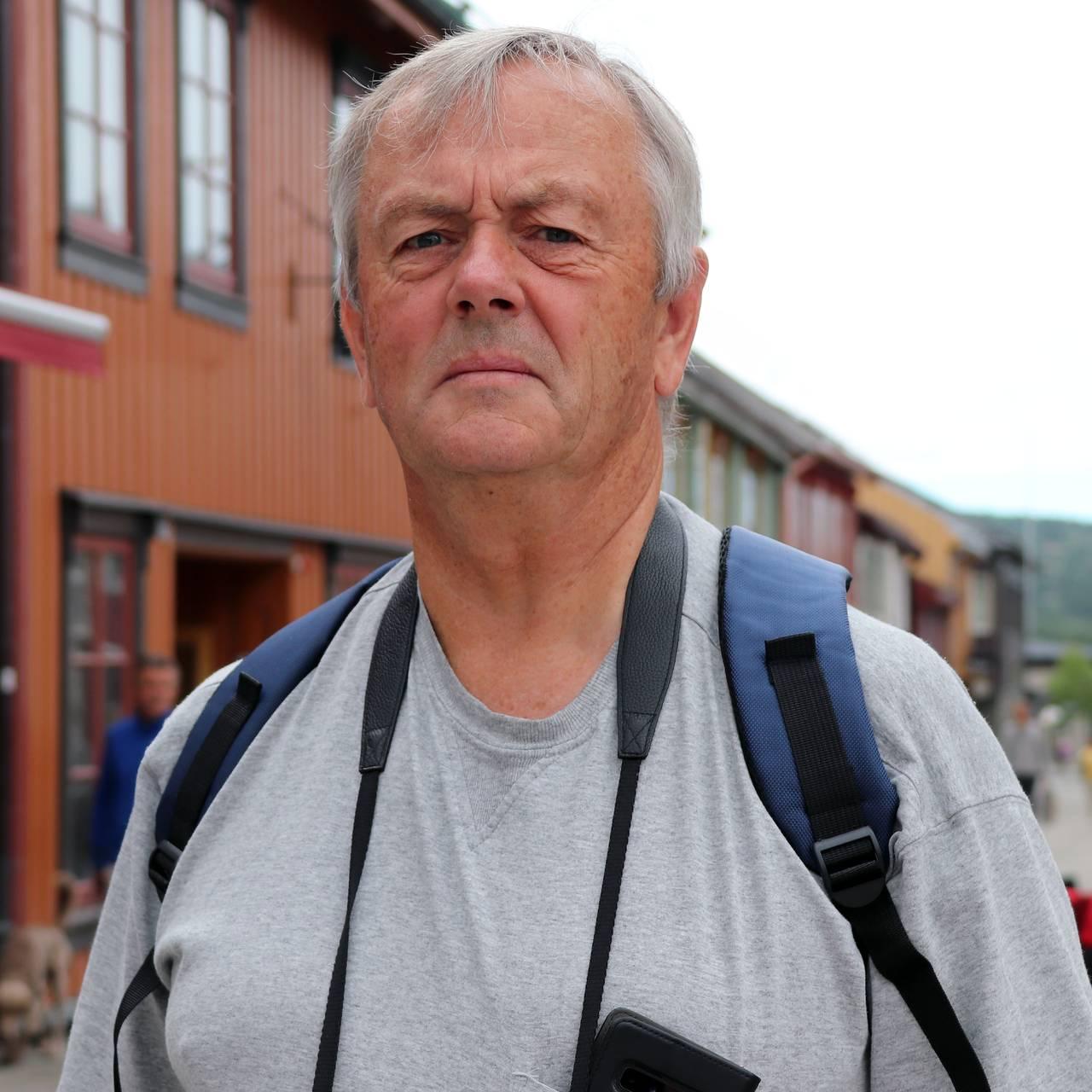 Jon Helge Aas, turist på Røros