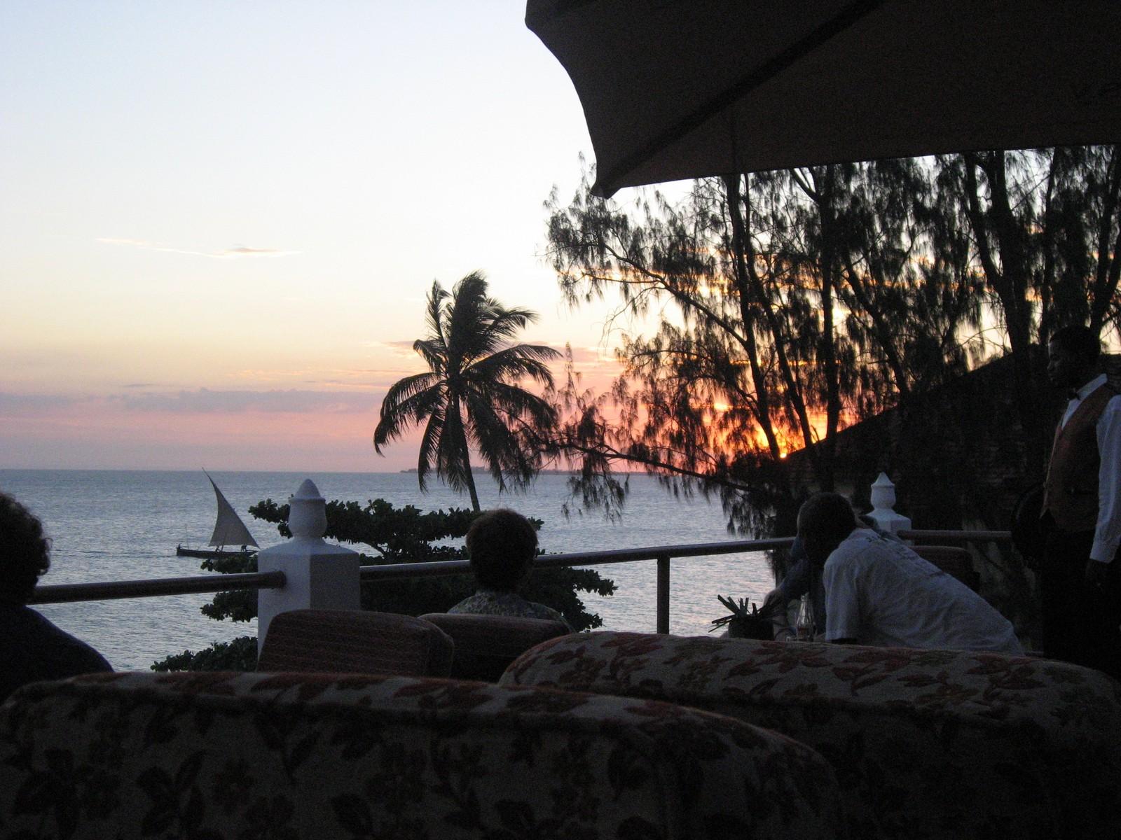 Kontoret på Zanzibar.