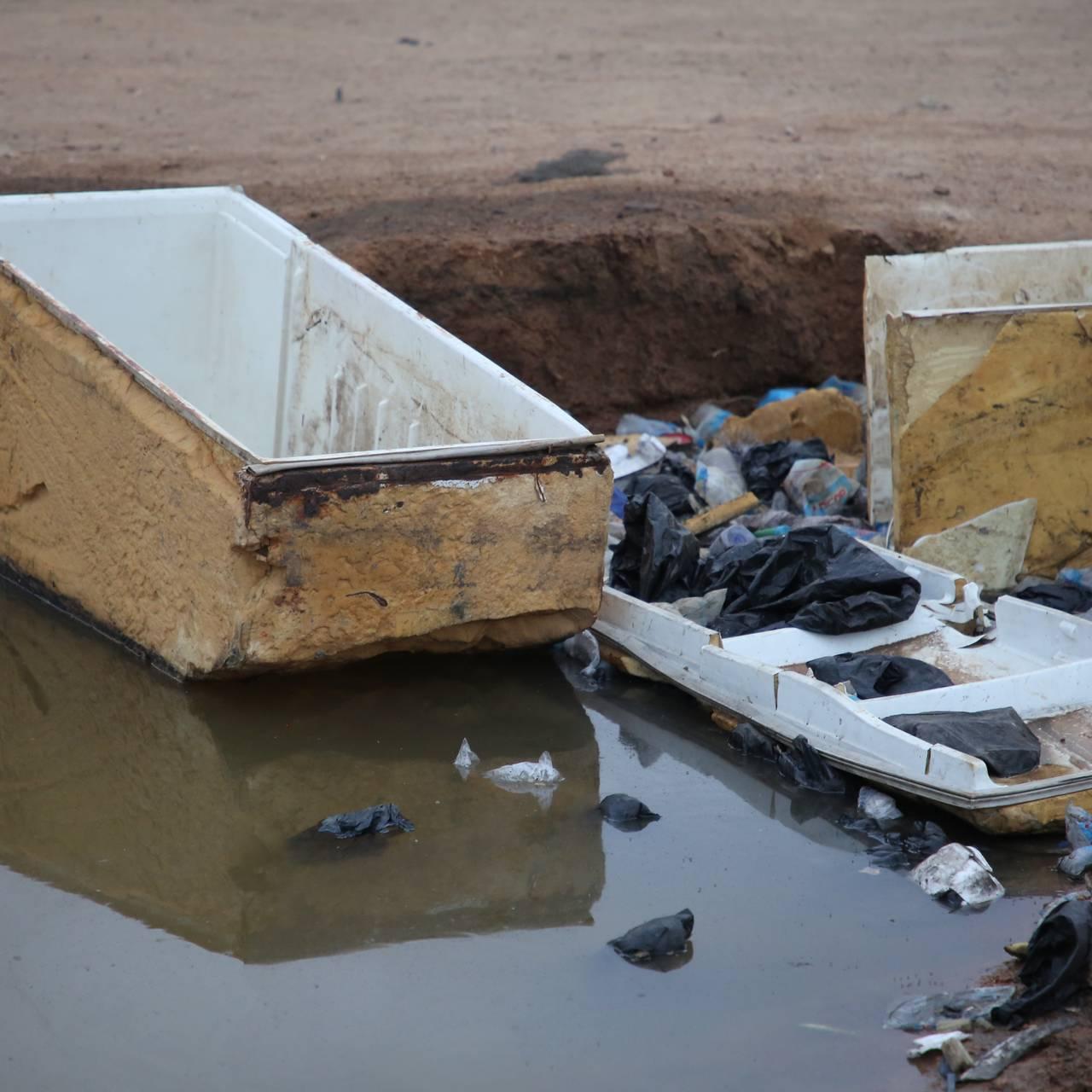 Søppeldynga i Ghana