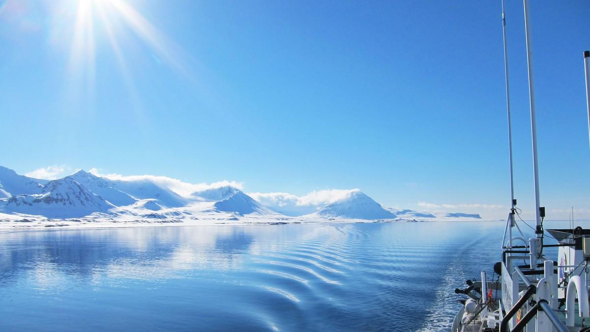 Kongsfjorden på Svalbard - Foto: Eivind Molde/NRK