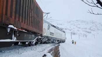 Tog sporet av på Bergensbanen