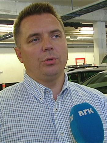 Marius Bækkevar, leder for Politiets Fellesforbund i Asker og Bærum politidistrikt.