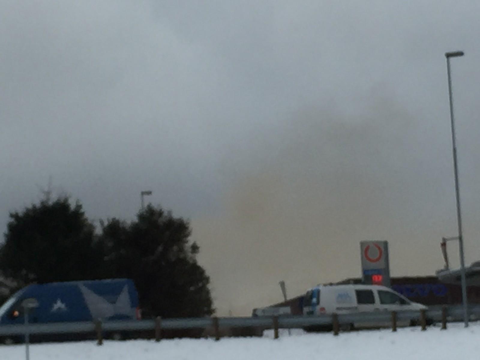 Røykutvikling Breivika, Ålesund