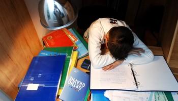 Hardt å studere