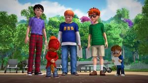 Bilde fra serien Alvin og gjengen