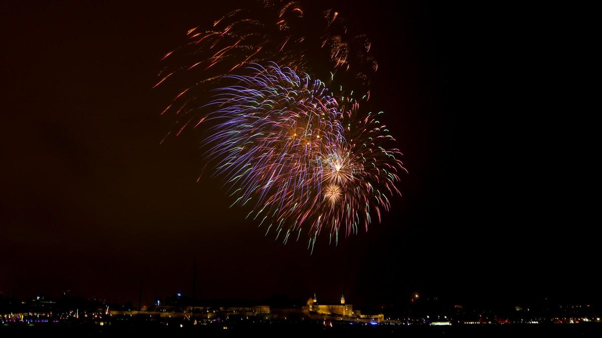 Enkelt frankfurt nye året