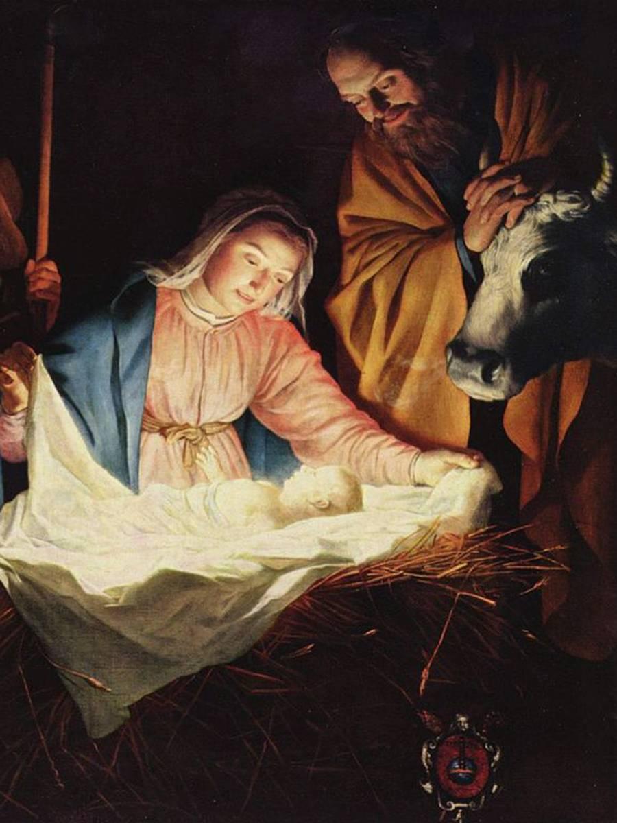 Jesus fødsel.