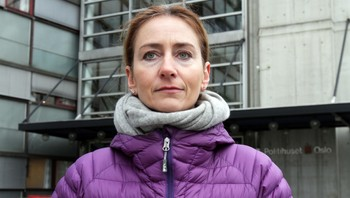 Kristin Aga, leder i Oslo politiforening