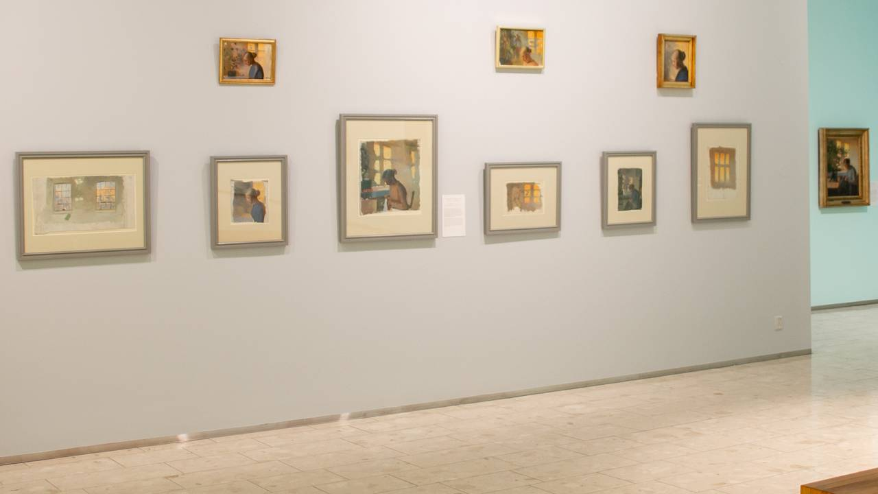 Foto dell'installazione dal Museo d'Arte di Lillehammer