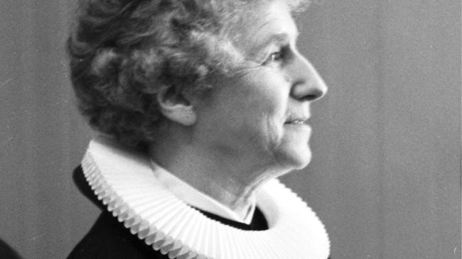 Norges første kvinnelige prest (foto: Aage Storløkken/Scanpix)