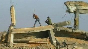 Video Gaza fortsatt i ruiner