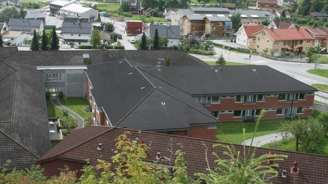 Sogndal omsorgssenter. Foto: Kjell Arvid Stølen, NRK.