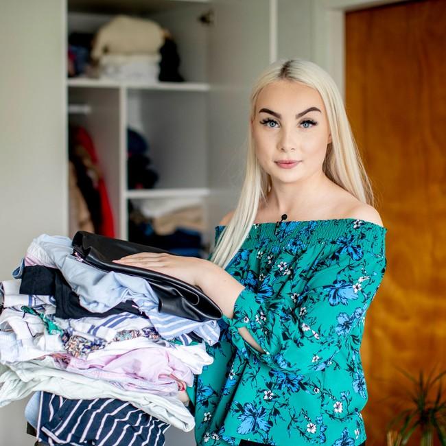 Dina Buer (17) fra Rakkestad