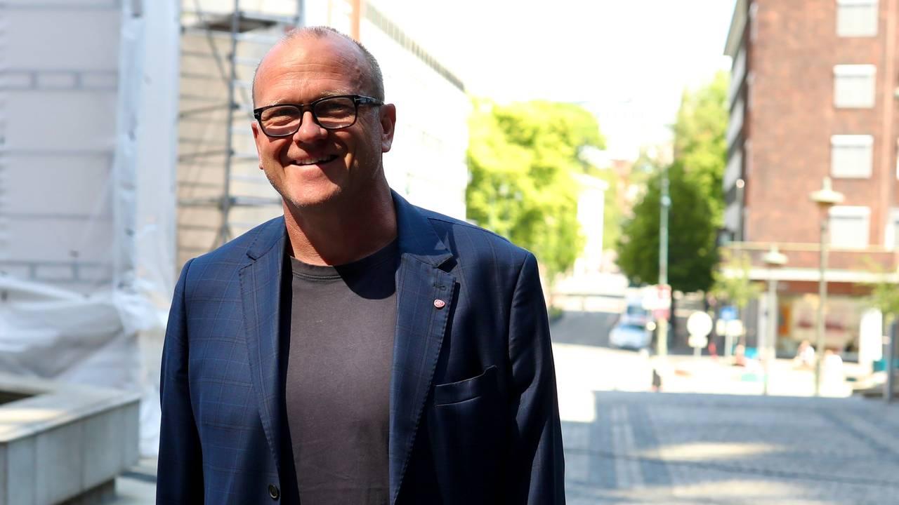 Aps gruppeleder Frode Jacobsen er trygg på at det nye byrådet vil bestå av de samme partiene som sitter der nå.