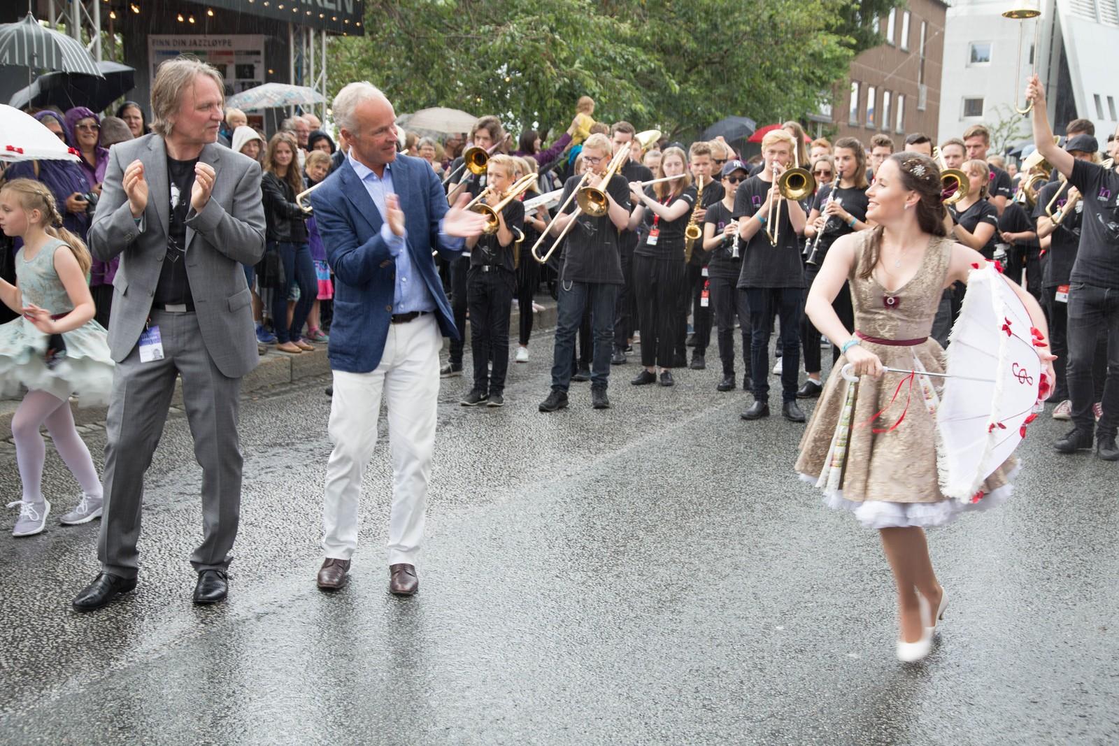Det blir gateparade under jazzfestivalen hver dag klokka 11.30.