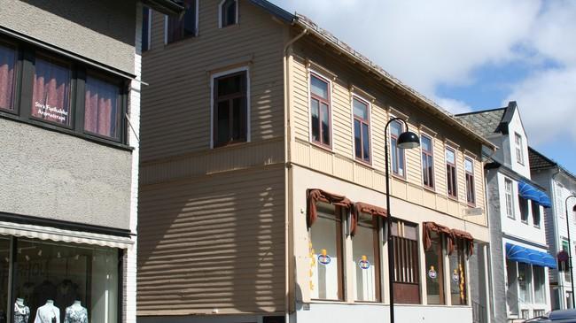 Ellen Christiansen-huset i Strandgata 27. Foto: Ottar Starheim, NRK.
