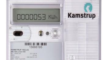 Smart strømmåler fra danske Kamstrup.