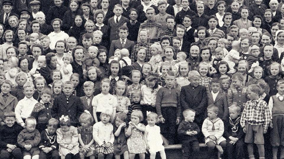 Barna fra Telavåg - fanger av det tredje riket