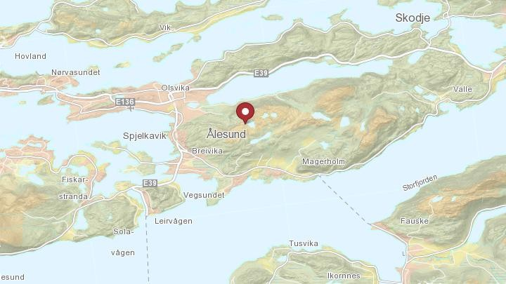 kart emblemsfjellet Fant død person i Ålesund – NRK Møre og Romsdal – Lokale nyheter  kart emblemsfjellet