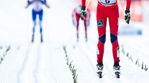 15 km fellesstart med skibytte, kvinner