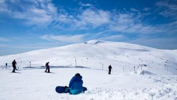 Alpinanlegg på fjellet