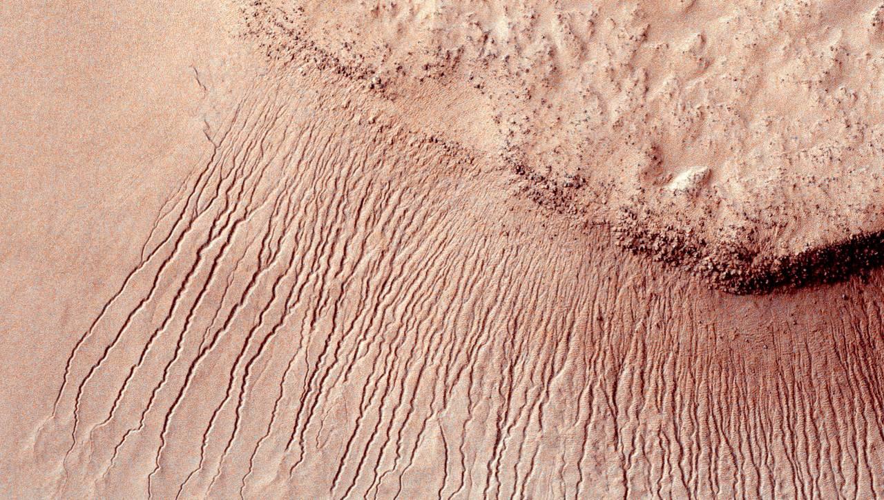 Vannfunn på Mars