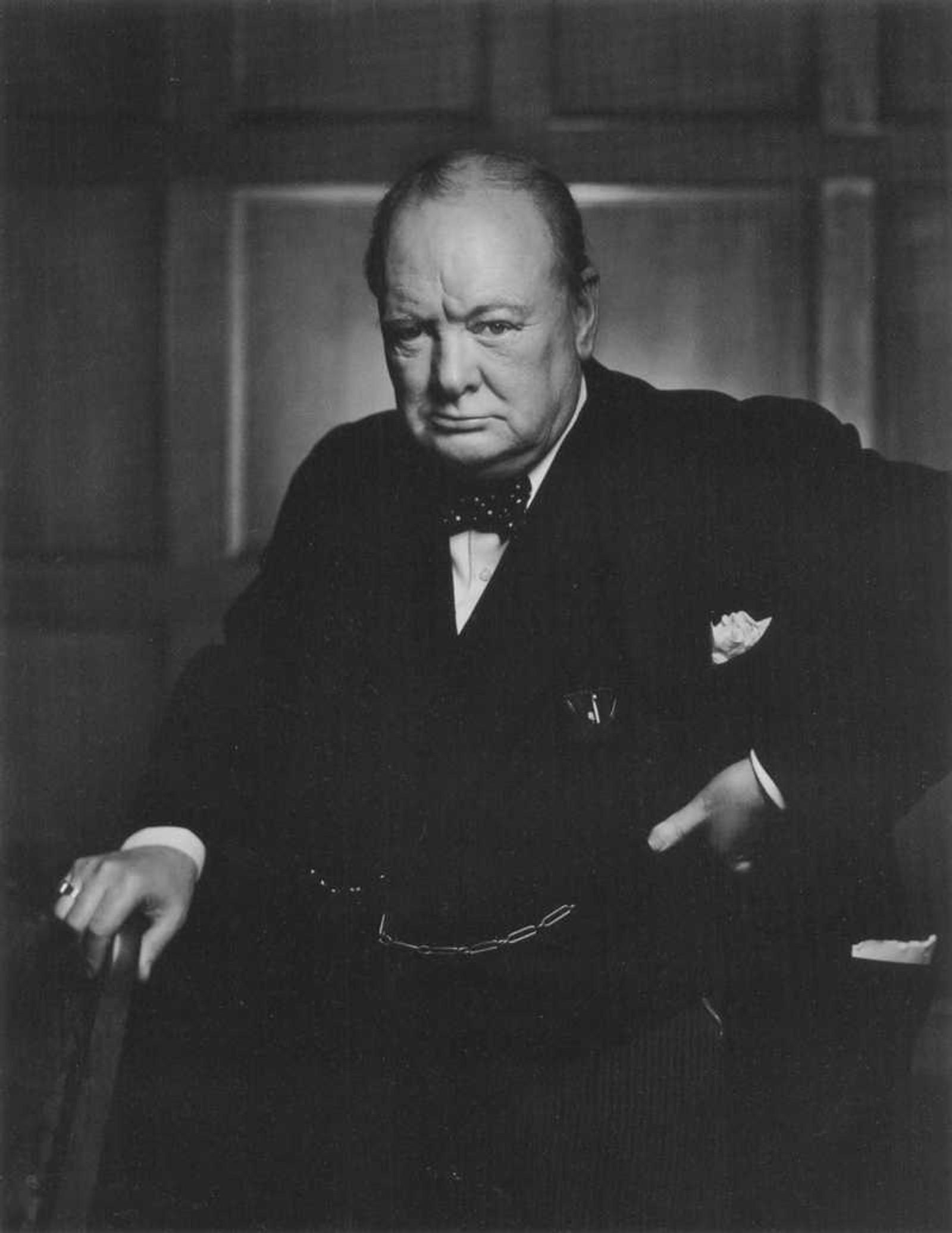 CHURCHILL: Britenes statsminister under andre verdenskrig, Winston Churchill, fotografert 30. desember 1941.