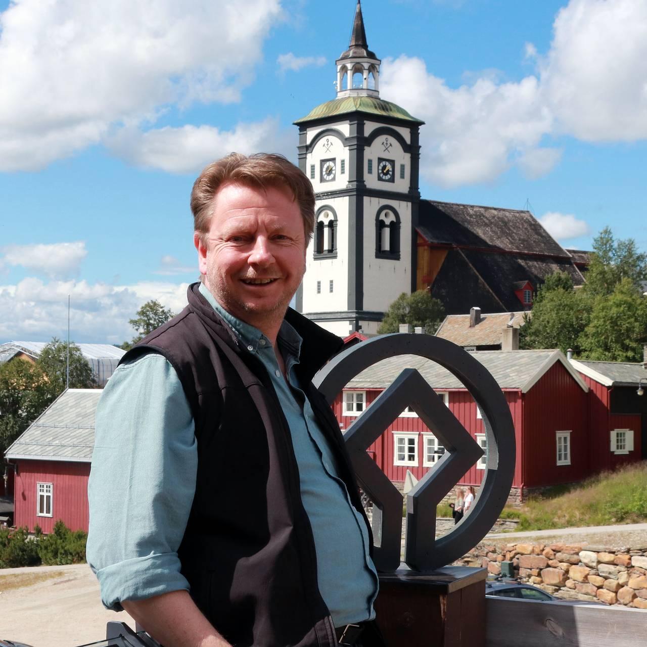 Odd Sletten, direktør Rørosmuseet