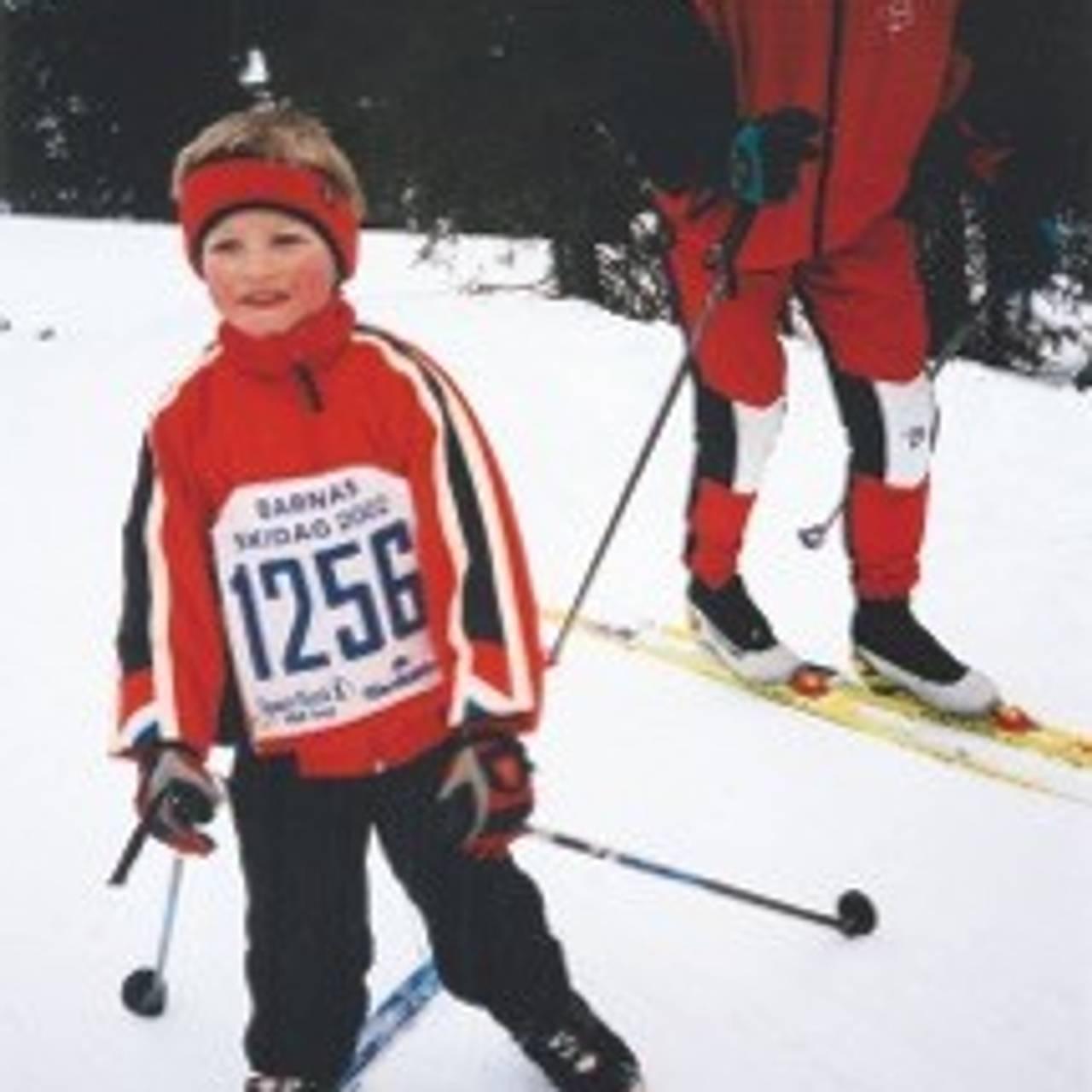 Klæbo på ski