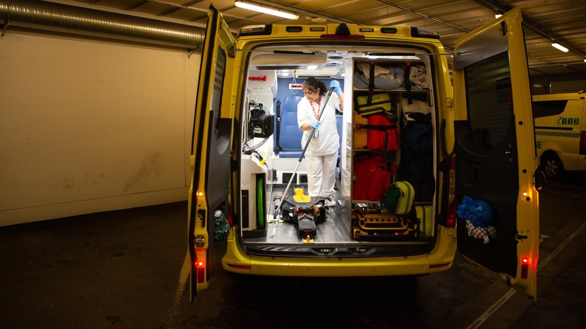 Reinhaldarane jobbar på spreng for å halde koronasmitten unna sjukehuset