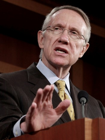 Senatets majoritetsleder Harry Reid