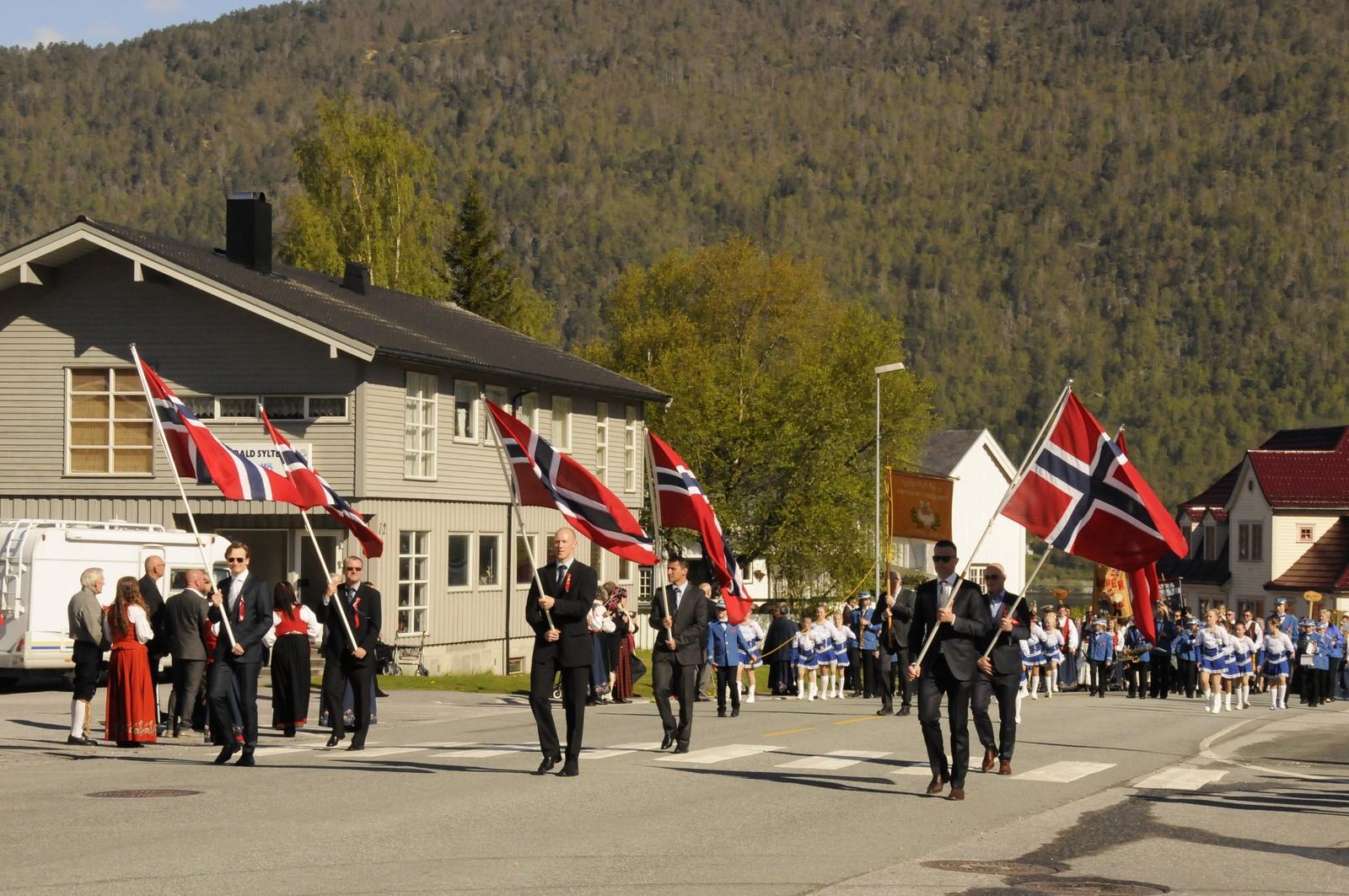 Frå Åndalsnes. Foto: Ottar Rydjord