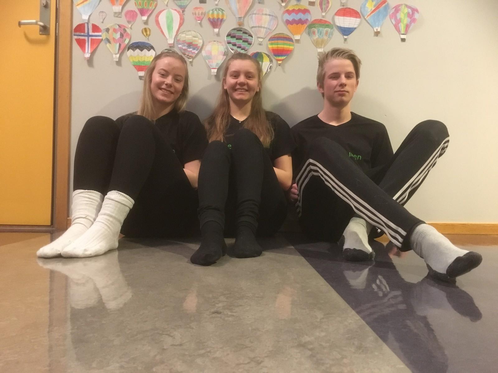 Heidi Vingelen, Marte Leinan Lund og Ola Brevad Lien fra Tolga skole fikk 7 poeng.