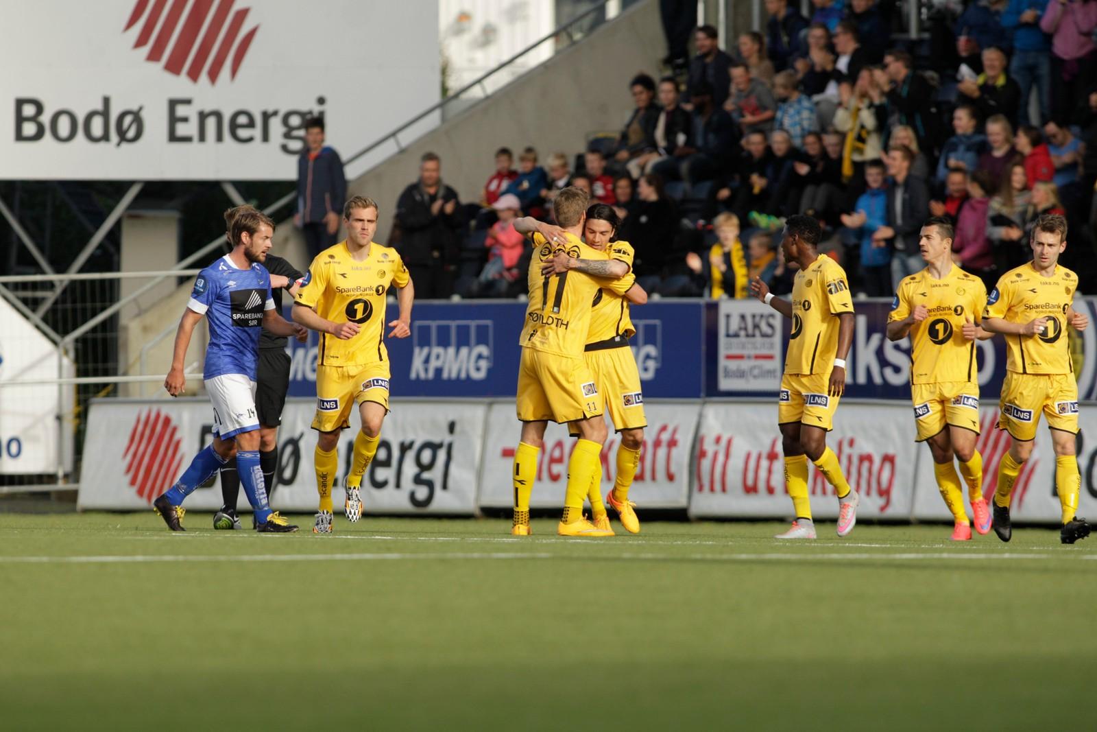 Bodø/Glimt-Start på Aspmyra stadion.