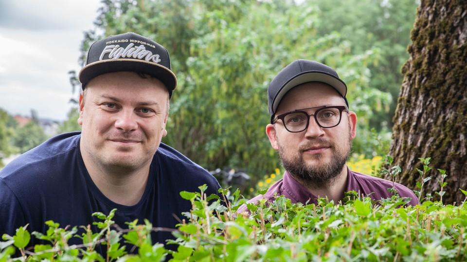 Endre Ruset og Joakim Kjørsvik