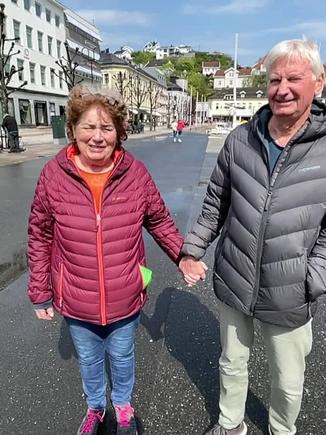 Annett Høiland og Sven Slokvik