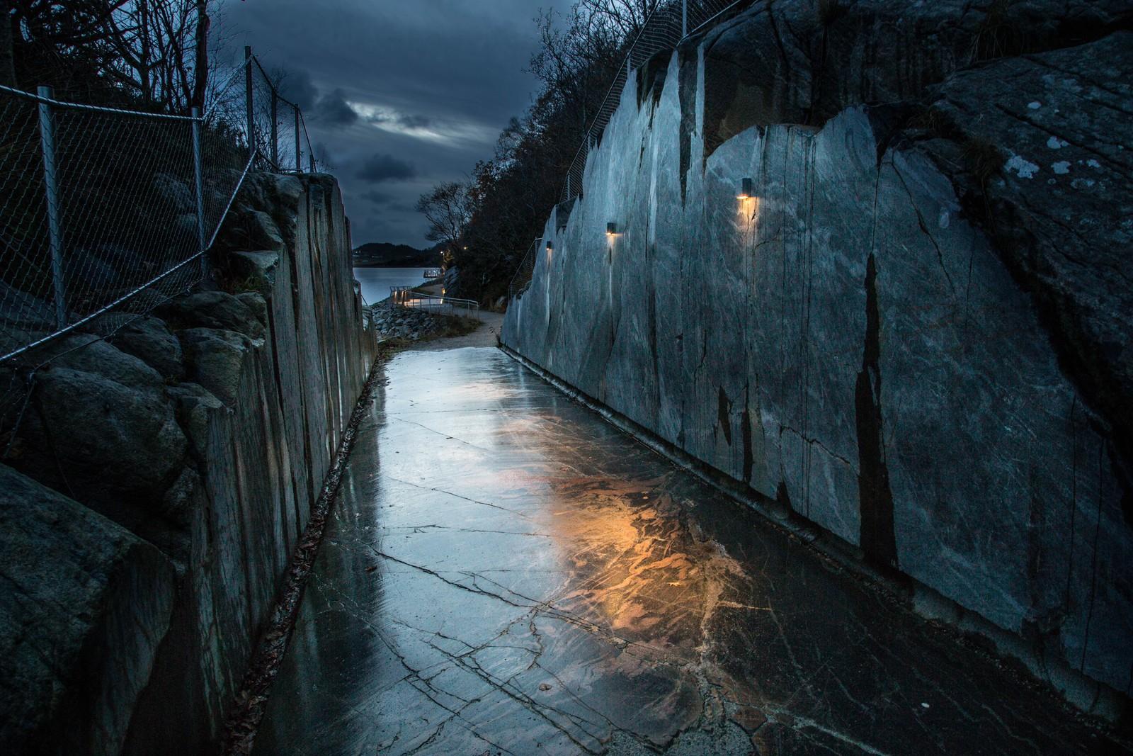 Ny turvei langs Hafrsfjord.